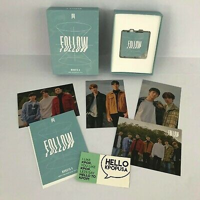 【Monsta X】Follow - Find You Unsealed Kihno + Group Photocard