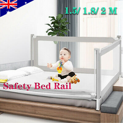 Rail Universal Summer Baby Child Guard Lift Toddler Infant Bed Adjustable ACB#