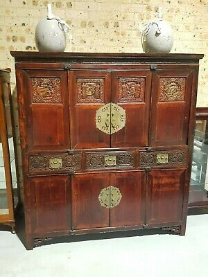 Magnificent Large Oriental Cabinet