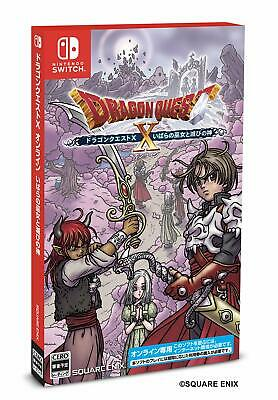 Dragon Quest x Thorns Miko e God Of Destruction On-Line Interruttore