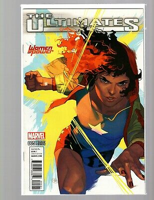 The Ultimates #5 Women of Power Variant NM New Unread