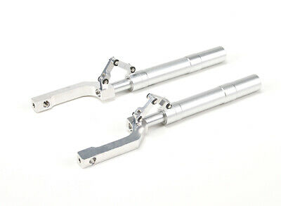 5mm Pin Hole Offset Oleo Strut Nose Gear for RC Model Airplane 130mm Long