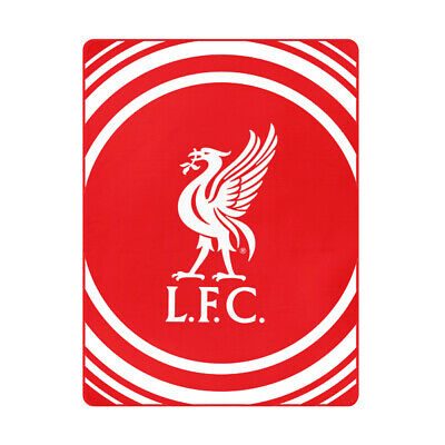 LIVERPOOL FLEECE BLANKET OFFICIALLY LICENSED FREE SHIPPING 60' x 50'