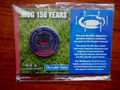 Herald Sun Mcg 150 Years The People Ground Maldalion