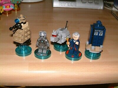 Doctor Who + Cyberman Lego Dimensions Level Fun Packs Xbox One 360 Ps3 Ps4 Wii U