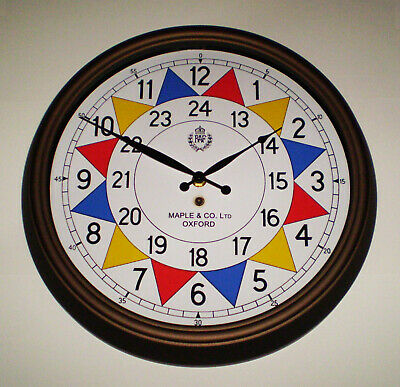 RAF Sector Clock, WW2 Operations Room, Battle of Britain, Replica Souvenir Clock