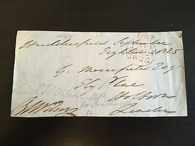 Robert Thomas Wilson - Distinguished Army Officer - Signed Envelope Front