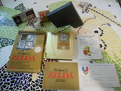 -*-*-  THE  LEGEND  OF  ZELDA  * * FAH * cOmplet  pOur  NINTENDO NES * 1987 *
