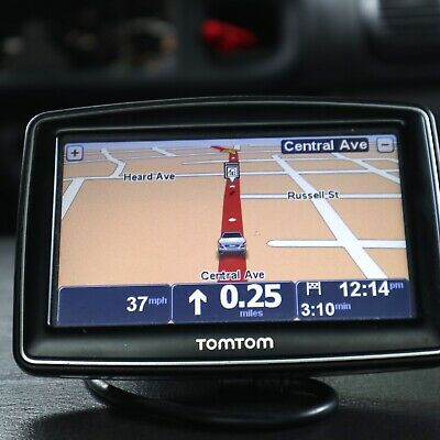 "TomTom XL GPS, US and Canada 310, touch screen, 4.3"", with car power cord"