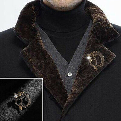 Jewelry Fashion Accessories Ancient Scarf Buckle Dragon Brooch Shawl Pin Badge