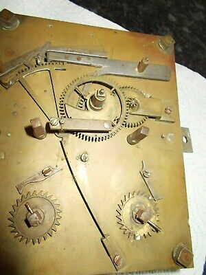 Antique Longcase Clock Movement