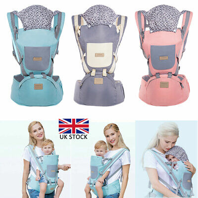 Ergonomic Infant Baby Carrier With Hip Seat Stool Adjustable Breathable Backpack