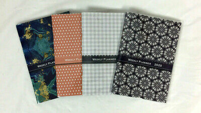 2020 WEEKLY Softcover Purse Calendar Appointment Agenda Book Planner 5x7 (5x8)