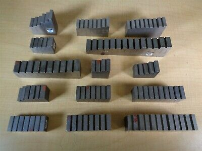 14 Piece Calibration Gage Block Set PARTS OR REPAIR ONLY MIC TREE N6