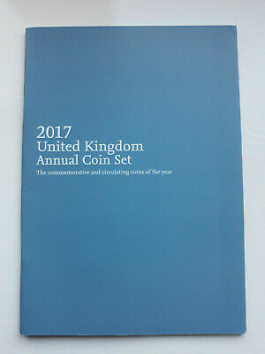 The 2017 ROYAL MINT ANNUAL COIN SET BOOKLET In Very Good Condition