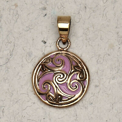 Talisman of the Sacred Three-Bronze/Celtic/Gold/Medieval/Pagan/Pendant/Jewelry
