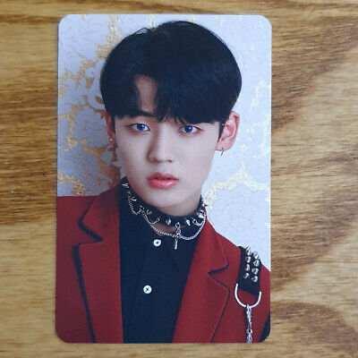 Chan Official Photocard A.C.E Under Cover : The Mad Squad Ace Pre-Order Gift