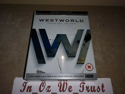 Westworld - Season/ Series 2 4K (Blu-ray, 6-Disc Box Set, 2018)
