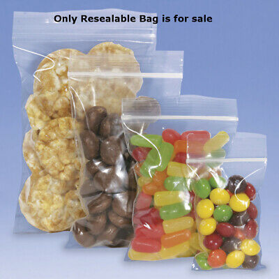 Resealable Bags 2 W x 3 H Inches - Box of 1000
