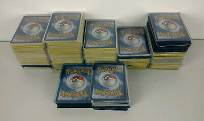 Lot of 100 Authentic Official Pokemon TCG Cards - Guaranteed Rares & Holos