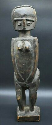 Large African wooden Tribal female figure C. 19th century AD