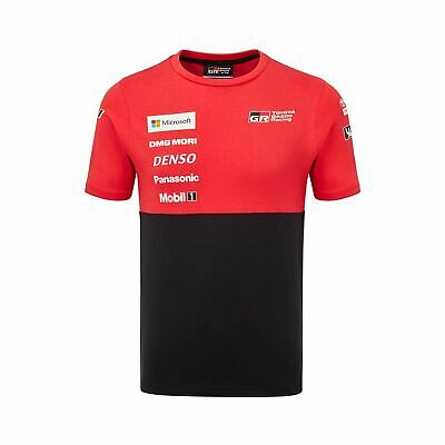 2019 Toyota Gazoo Racing WRT Mens Team T-Shirt Black - L
