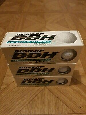 Dunlop DDH Explosive Distance For Women Brand New 3 x 3 Total Balls 9