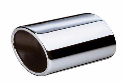 Cossie Oval Stainless Steel Exhaust Tip Round Tip Steel No Rust
