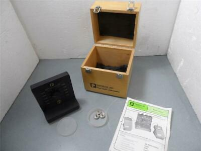 Photodyne Model 1800 FB Fiber Optic Attenuator With Wooden Case