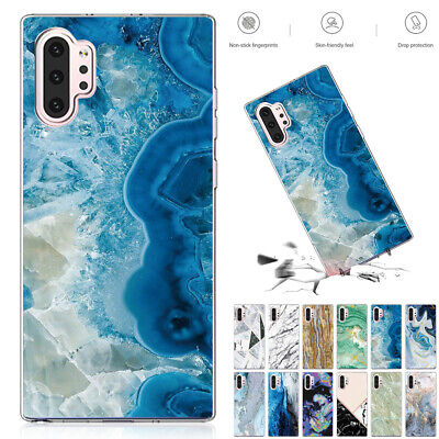 For Samsung S10 Note10 Plus 5G S9 Case Luxury Ultra Slim Silicone TPU Gel Cover