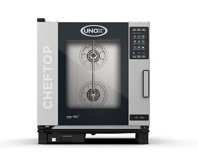 Unox Hot Air Combination Steamer Cheftop Mind.maps plus Electric and Gas 3 to 20