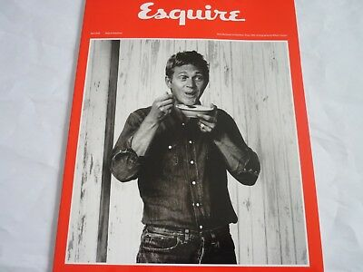 Esquire magazine subscribers cover april 2018 steve mcqueen william claxton