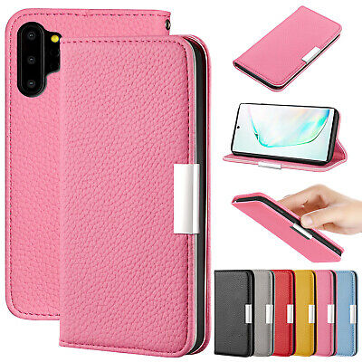 For Samsung J4 J6 Plus A70 A80 A50 A30 Magnetic Leather Wallet Stand Case Cover