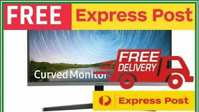 Samsung C27R5 27'' FHD LED LCD  Freesync Curved Gaming Monitor HDMI VGA VA