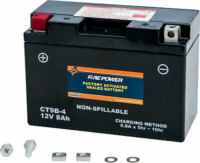 FIRE POWER CTZ8V FA Factory Activated Sealed Battery