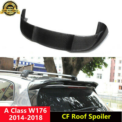 W176 Roof Spoiler Carbon Fiber Wing for Mercedes Benz A180 A250 A260 A45 P Style