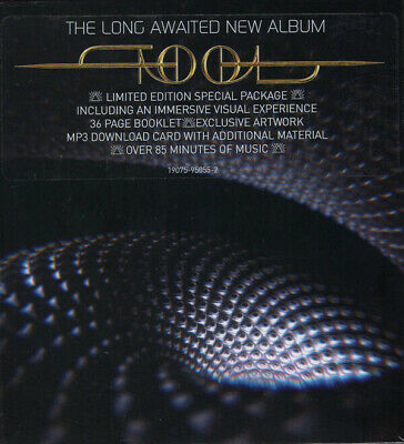 TOOL Fear Inoculum special edition VAR 1 CD + speaker +book +download NEW/SEALED