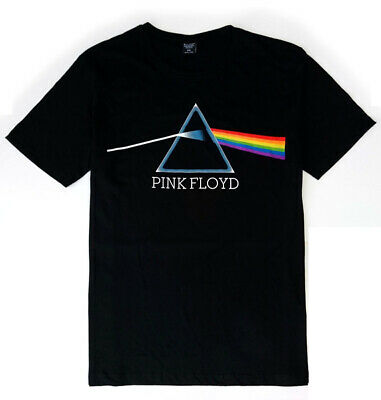 Pink Floyd T-Shirt Dark Side of the Moon Waters Gilmour Officially Licensed