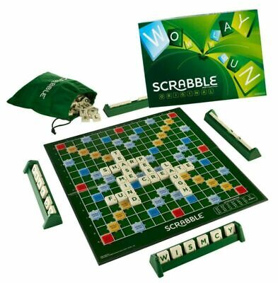 Original Scrabble Board Game Family Kids Adult Educational Toys Puzzle Game Gift