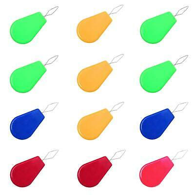 Hand Sewing Machine Needle Threader Wire Insert Craft Tool Bow 12pcs Plastic