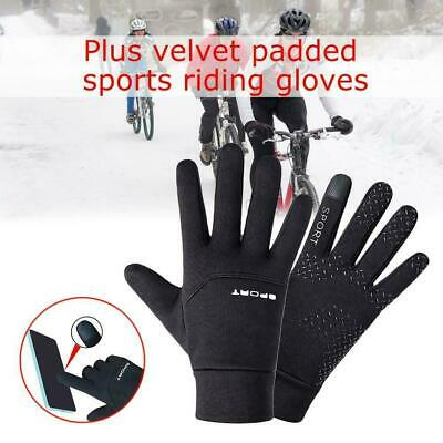Football Gloves Boys Waterproof Thermal Grip Outfield Player Sports Fast