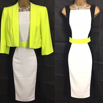 FAB  LACY DRESS AND JACKET SUIT IN THREE COLOURS BNWT SIZE 12 14 16 18 20 22