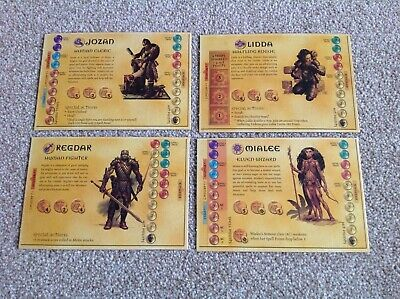 Card Stock Multi-Listing Dungeons /& Dragons Boardgame Parker 2003 Components