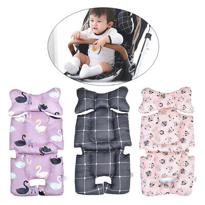 Baby Toddler Stroller Seat Cushion Cotton Warm Printed Soft Thick Pad