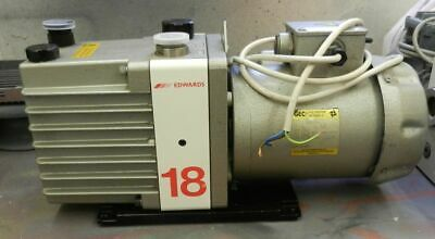 Edwards high vacuum pump E1 M18