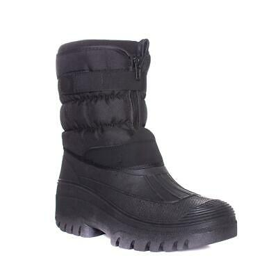 Mens Winter Snow Boots Outdoor Warm Fur Shoes Waterproof Mid-Calf Moon Boots ZLY