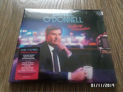 Daniel O'donnell Halfway To Paradise 3 Cd + Signed Postcard