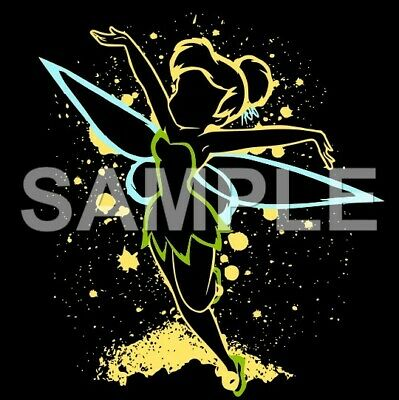 Disney Tinkerbell  VINYL iron on transfer