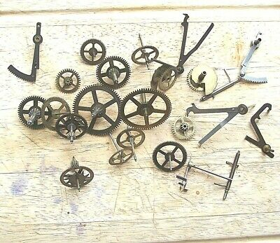 Genuine Smiths Enfield Clock Pinions, Wheels, Racks & Lifters etc.