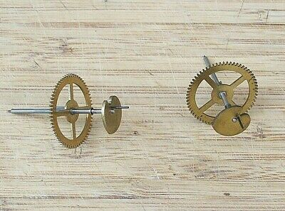 Genuine Smiths Enfield Clock Gathering Pallets and Wheels